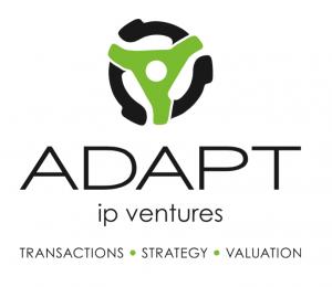 Adapt IP Ventures - logo - IP transaction, strategies, and valuation